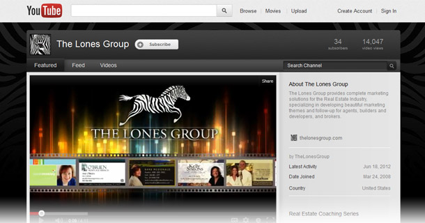 The Lones Group YouTube screenshot