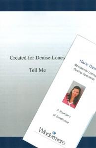 Marie Davis' Cover