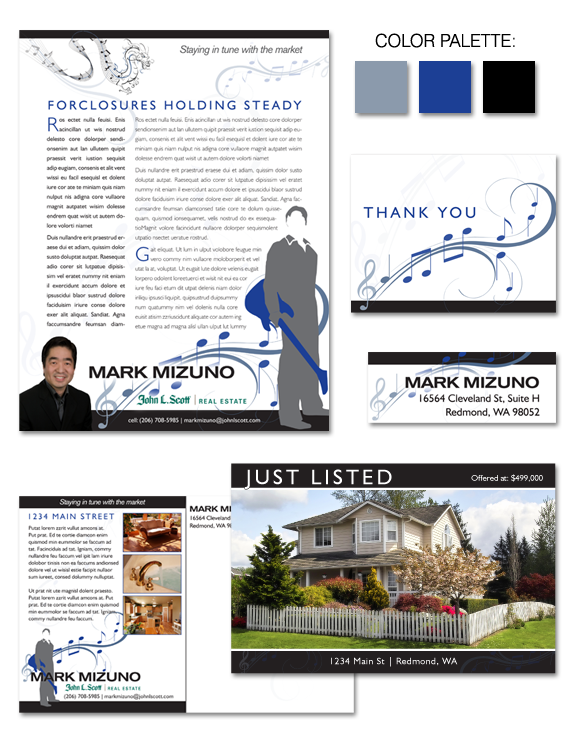 Mark Mizuno's Branding Design