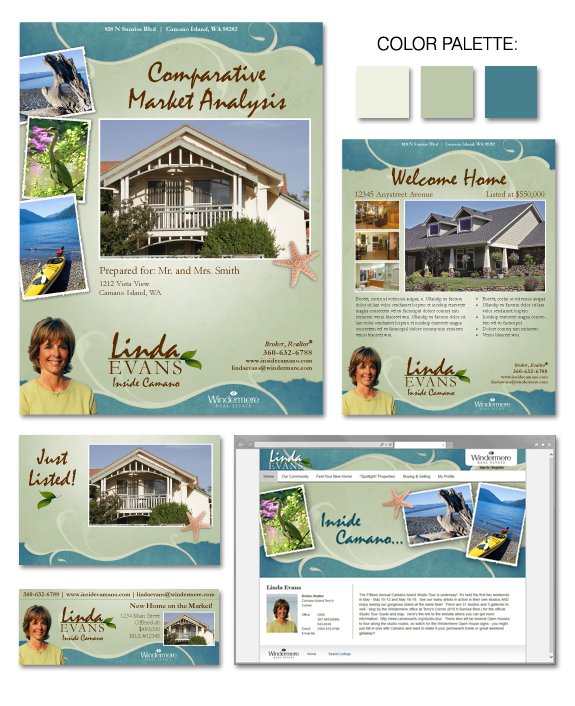 Linda Evan's design refresh