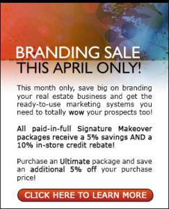 Real Estate Branding Sale