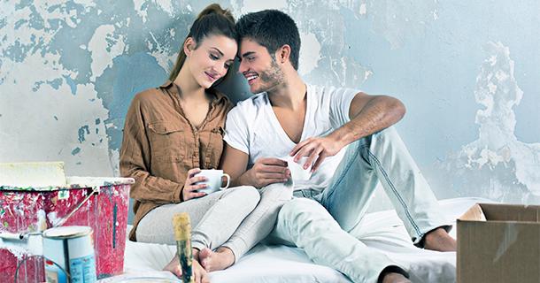 Home Renovating Couple