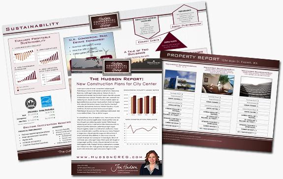 Jen Hudson's Marketing Materials
