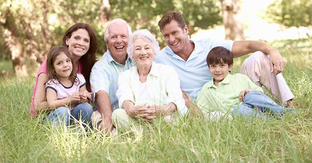 3 Family generations