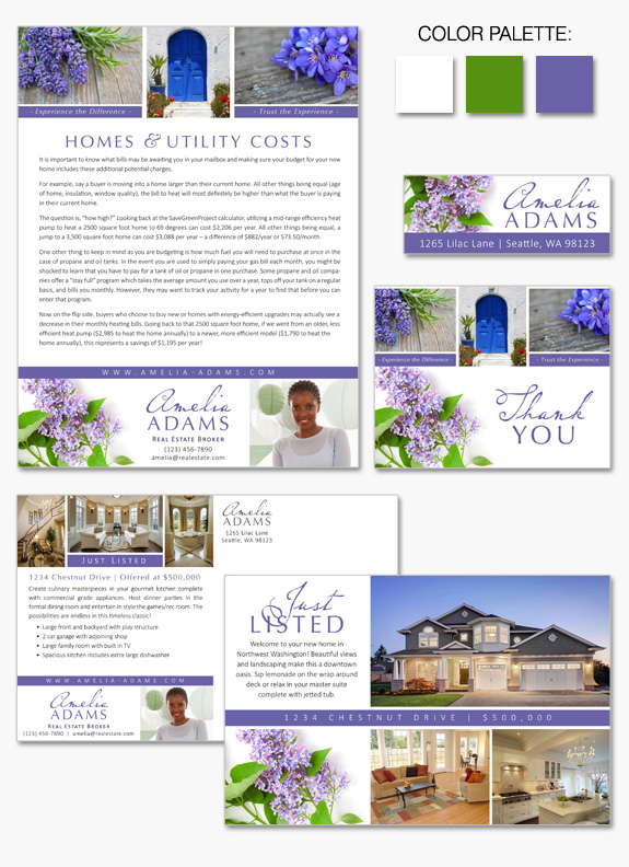 Lilac Layout design