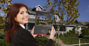 woman holding annual property review