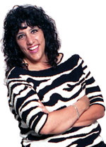 Denise-on-Stool