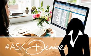Ask Denise: Database Cleanup